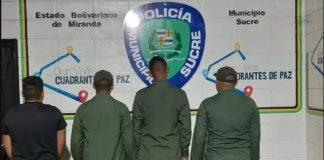 Arrestados tres sargentos de la GNB por disparar ebrios - Arrestados tres sargentos de la GNB por disparar ebrios