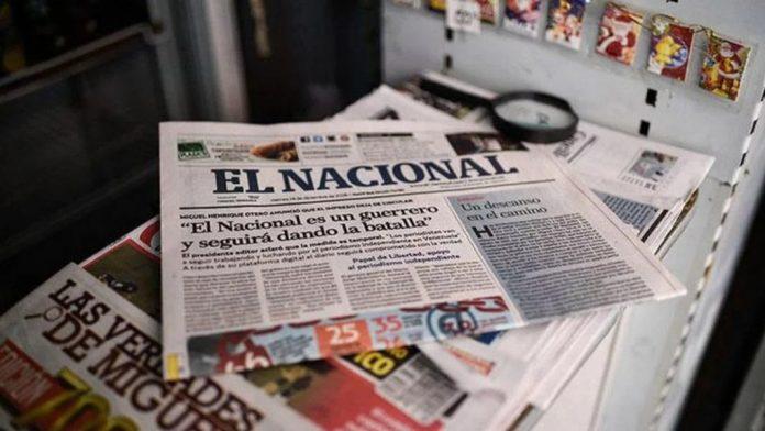 El Nacional regresará a su formato impreso tras dos años sin circular