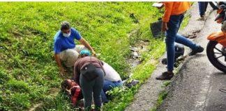 accidente en el Distribuidor Las Chimeneas - accidente en el Distribuidor Las Chimeneas