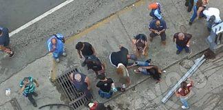 Tres personas heridas tras ser atropelladas - Tres personas heridas tras ser atropelladas