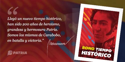 Bono Tiempo Histórico - Bono Tiempo Histórico