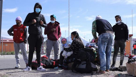 Expulsan a 56 migrantes venezolanos - Expulsan a 56 migrantes venezolanos