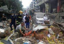 Explosión de gas en China - Explosión de gas en China