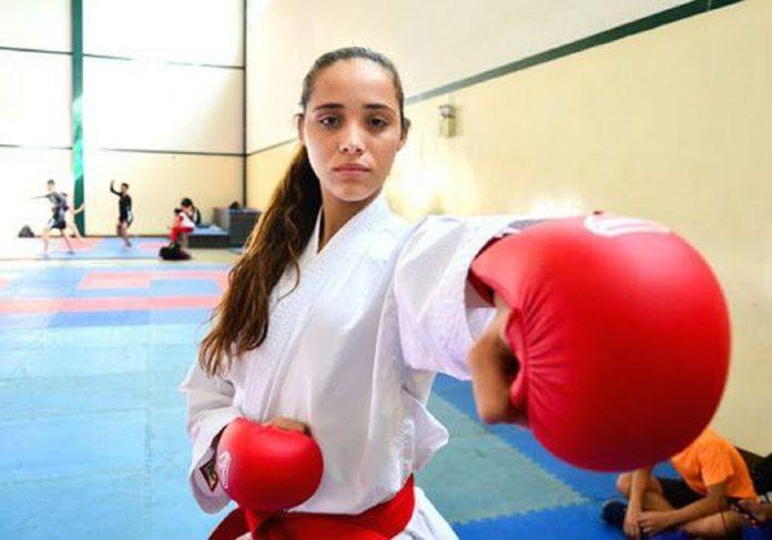Karateca Claudymar Garcés - Karateca Claudymar Garcés