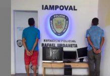 Dos integrantes de los Topos de Flor Amarillo detenidos