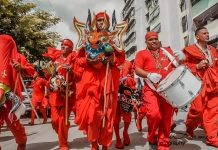 Diablos Danzantes celebran Corpus Christi - Diablos Danzantes celebran Corpus Christi