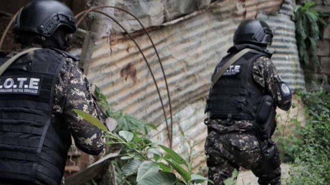 Operativo policial en La Vega