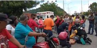 Ciclista arrollado en la avenida Lara - Ciclista arrollado en la avenida Lara