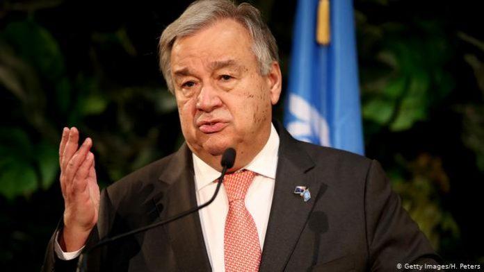 Guterres denunció aumento de la xenofobia
