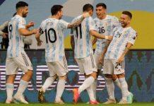 Argentina avanzó a Cuartos de Final Copa América Paraguay