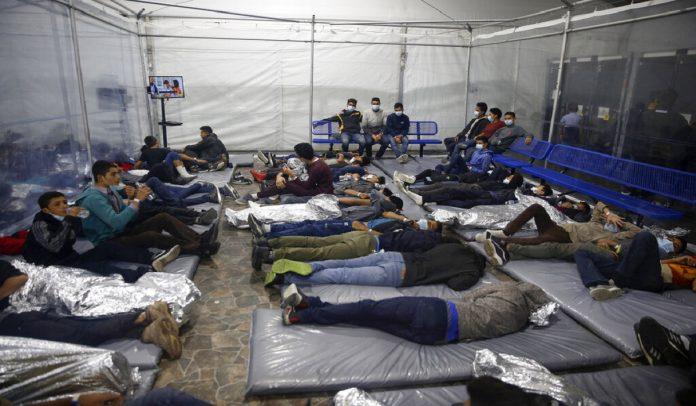 Inmigrantes detenidos en la frontera de Texas son venezolanos