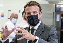 Cachetean al presidente de Francia