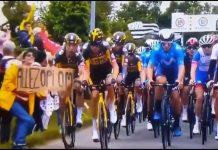 Accidente masivo en Tour de Francia - Accidente masivo en Tour de Francia