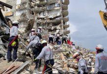 nueve personas muertas tras colapso de edificio - Cinco personas muertas tras colapso de edificio