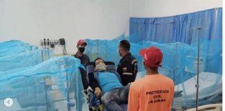 primer caso de paludismo en La Guaira