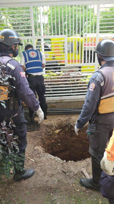 Hombre cayó a un pozo de agua en La Trigaleña