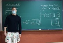 Profesores usan falda - Profesores usan falda
