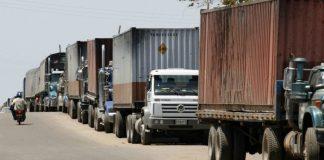paso de camiones de cargas en puentes fronterizos - paso de camiones de cargas en puentes fronterizos