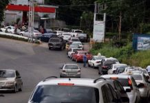 Tareck El Aissami: colas para surtir combustible llegarán a su fin