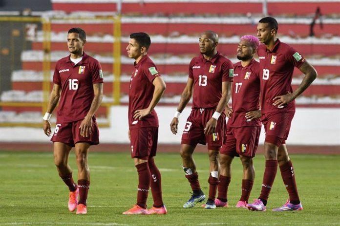 Cinco jugadores de Venezuela