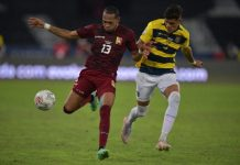 Testarazo de Ronald Hernández permitió a Venezuela empatar con Ecuador copa américa
