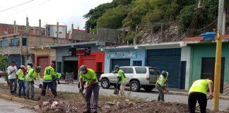 jornadas de saneamiento en Puerto Cabello