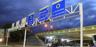 Instalan 900 lámparas en vías de Naguanagua