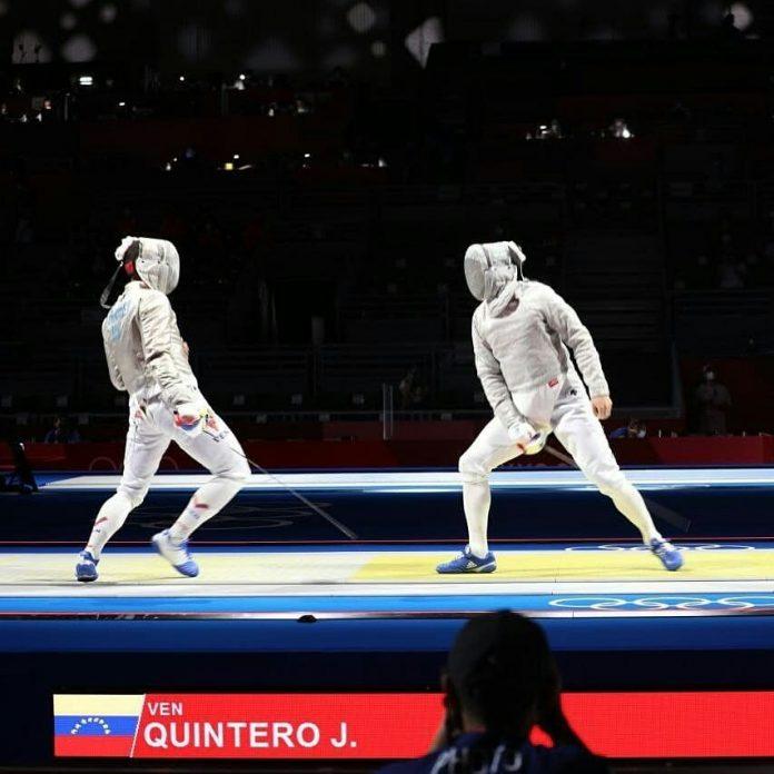 José Félix Quintero avanzó a la siguiente ronda de Sable Individual