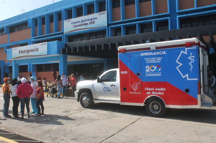 Gobernación entregó ambulancia