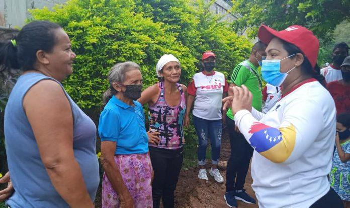 Liliana Ortega en Vigirima