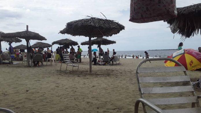 Playa La Rosa en Puerto Cabello - Playa La Rosa en Puerto Cabello