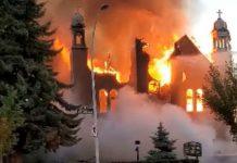 Cinco iglesias de Canadá ardieron - Cinco iglesias de Canadá ardieron