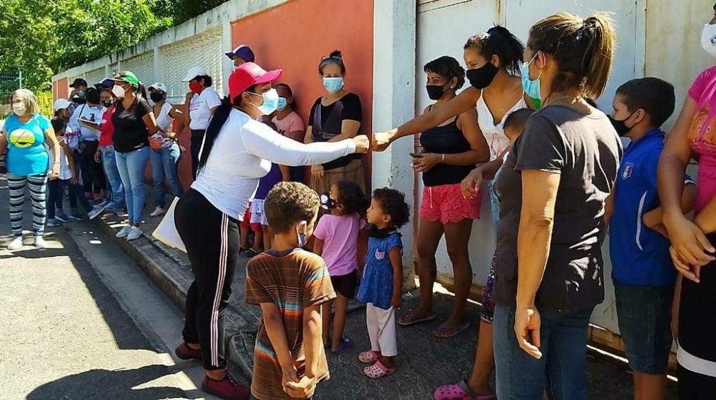 Liliana Ortega desplegada en comunidades
