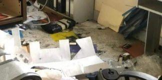 Vándalos causaron destrozos en Escuela de Medicina de la Universidad de Carabobo