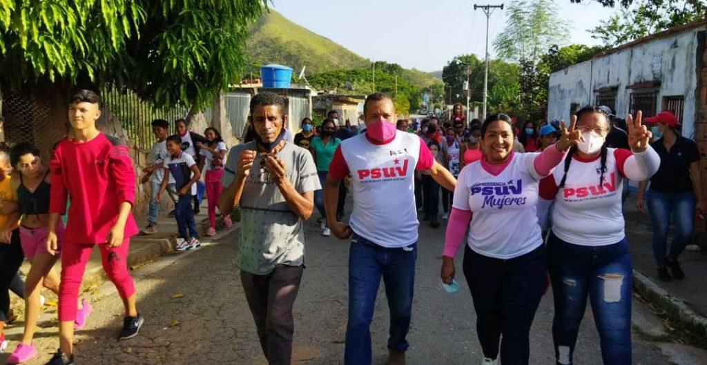Precandidata Liliana Ortega en Guacara