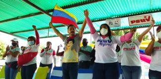 Precandidata Liliana Ortega en Guacara (2)