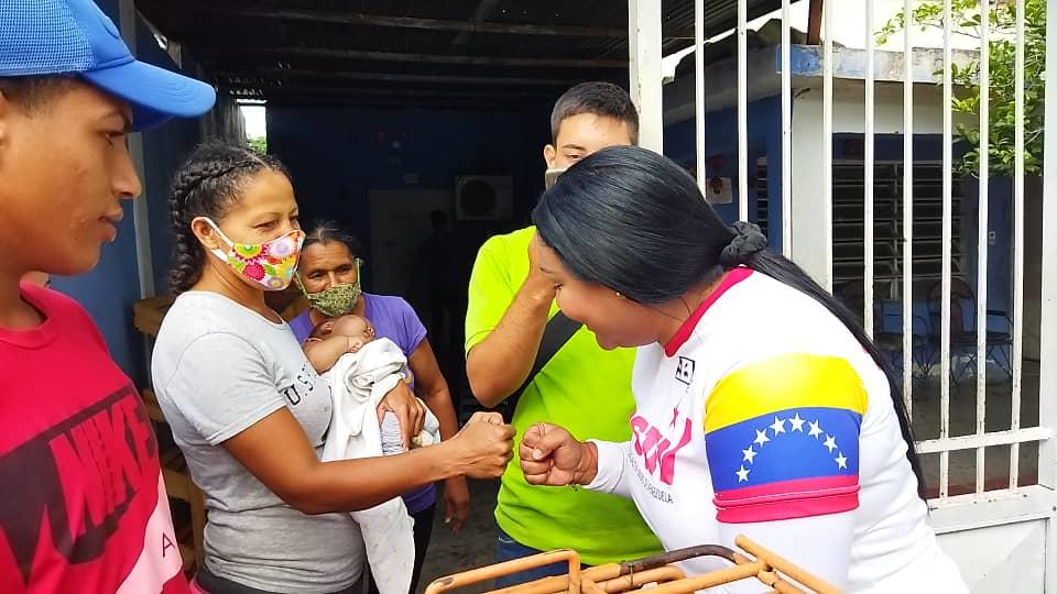 Precandidata del Psuv Liliana Ortega (1)