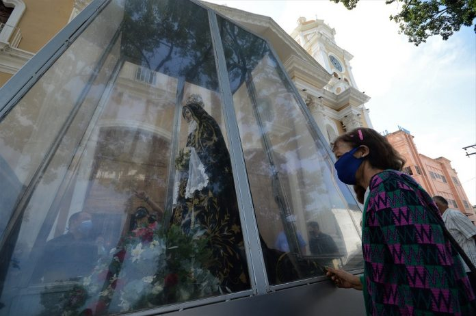 Beato José Gregorio Hernández Recorrido de Imagen de Nuestra Señora del Socorro