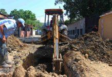 plan de sustitución de tuberías de aguas servidas