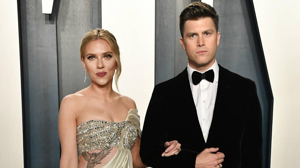 Scarlett Johansson y Colin Jost - Scarlett Johansson y Colin Jost