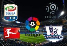 Temporada 2021/2022 de las principales ligas en Europa