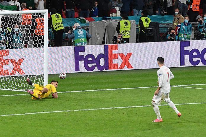 Italia jugará la Final de la Eurocopa tras eliminar en penales a España