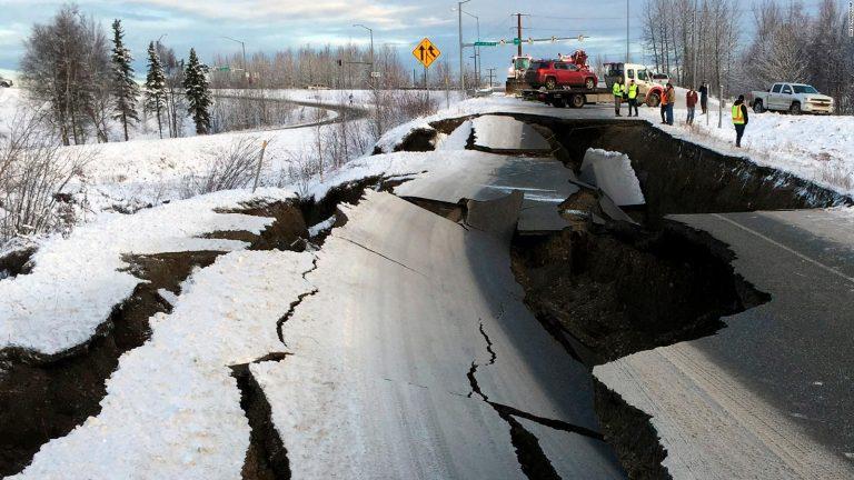 Fuerte terremoto en Alaska se reportó con alerta de tsunami (VÍDEO)