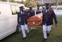 Sepultaron al presidente de Haití Jovenel Moise en su ciudad natal