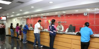 Banca venezolana acumula 23 fechas sin liquidez de forma consecutiva