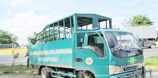Camión de la GNB se estrelló contra una casa