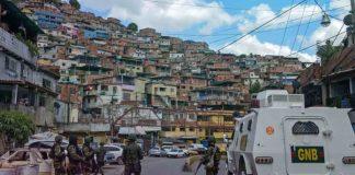Continúan los enfrentamientos en la Cota 905 de Caracas
