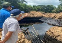 ocurrieron dos derrames petroleros en Anzoátegui