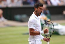 Novak Djokovic avanzó a la final de Wimbledon