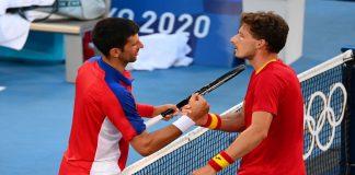 Novak Djokovic se quedó sin medallas en Tokio 2020
